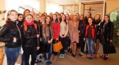 Первокурсники в Республиканском центре экологии и краеведения