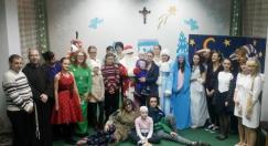 Волонтеры ФНО помогли «Caritas» устроить праздник для детей